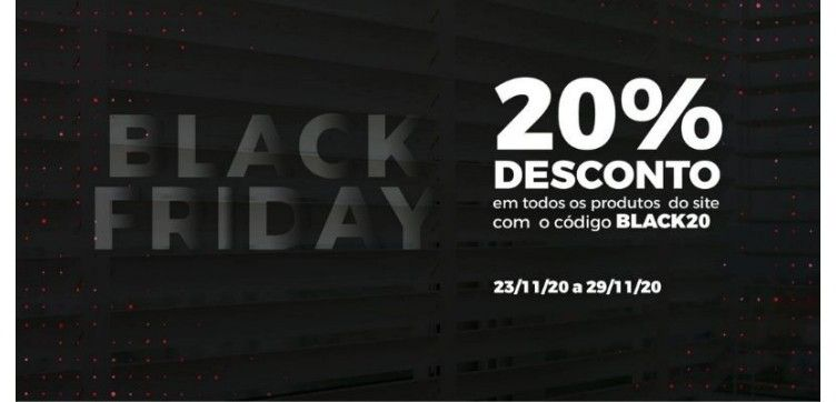 Black Friday Week Everything with 20% d